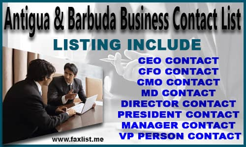 Antigua and Barbuda Business Contact List