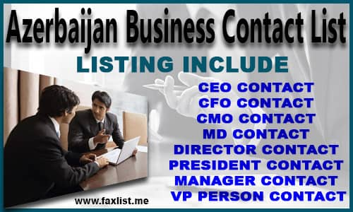Azerbaijan Business Contact List